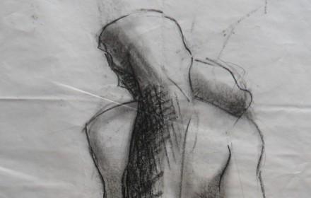 Studio di un Prigione di Michelangelo