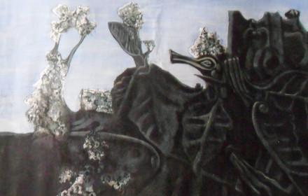 La ninfa eco (copia da Max Ernst)
