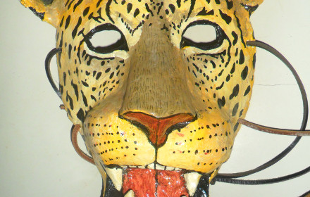 Maschera di leopardo