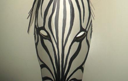 Maschera di zebra